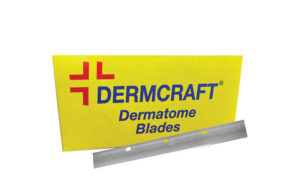 Skin graft blades