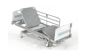 four section ICU bed