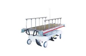 Hydraulic trauma stretcher